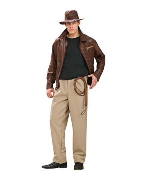 Indiana Jones Mens Costume deluxe