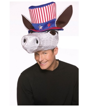 Patriot Donkey Hat - Costume Accessory