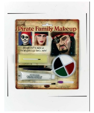 Pirate Family Costume Makeup Kit
