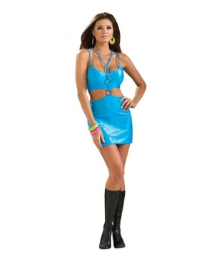 Polly Go Brightly Women Costume