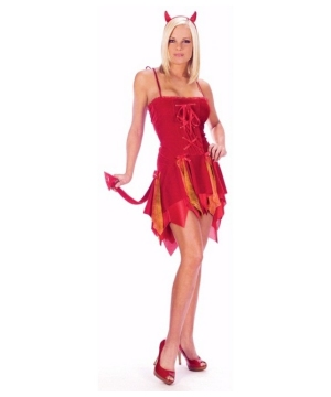 Sexy Flirty Devil Women Costume