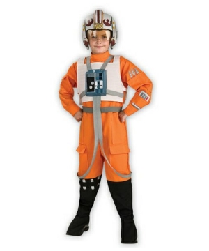 Star Wars Rebel Fighter Pilot Boys Costume