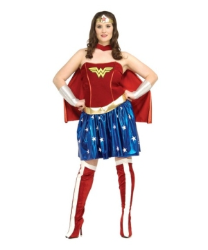 Wonder Woman Adult plus size Costume