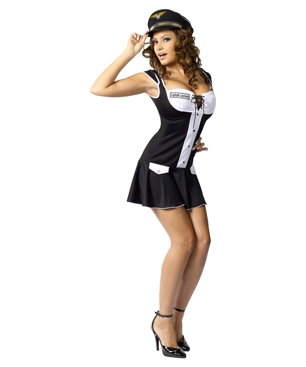 Captain Layover Women Costume