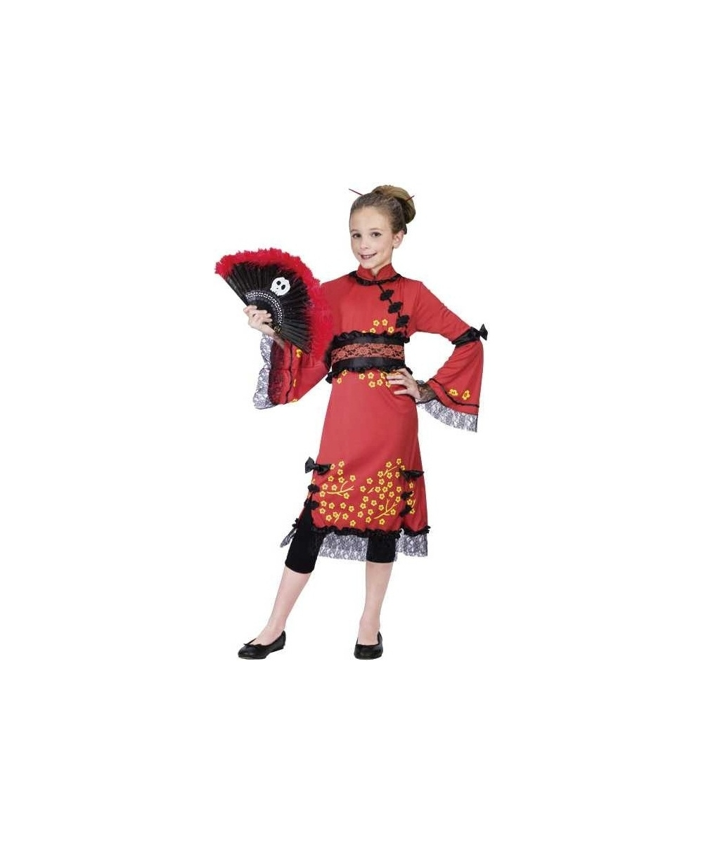 0f5bf52f8 Toddler China Doll Costume - China Doll Halloween Costumes