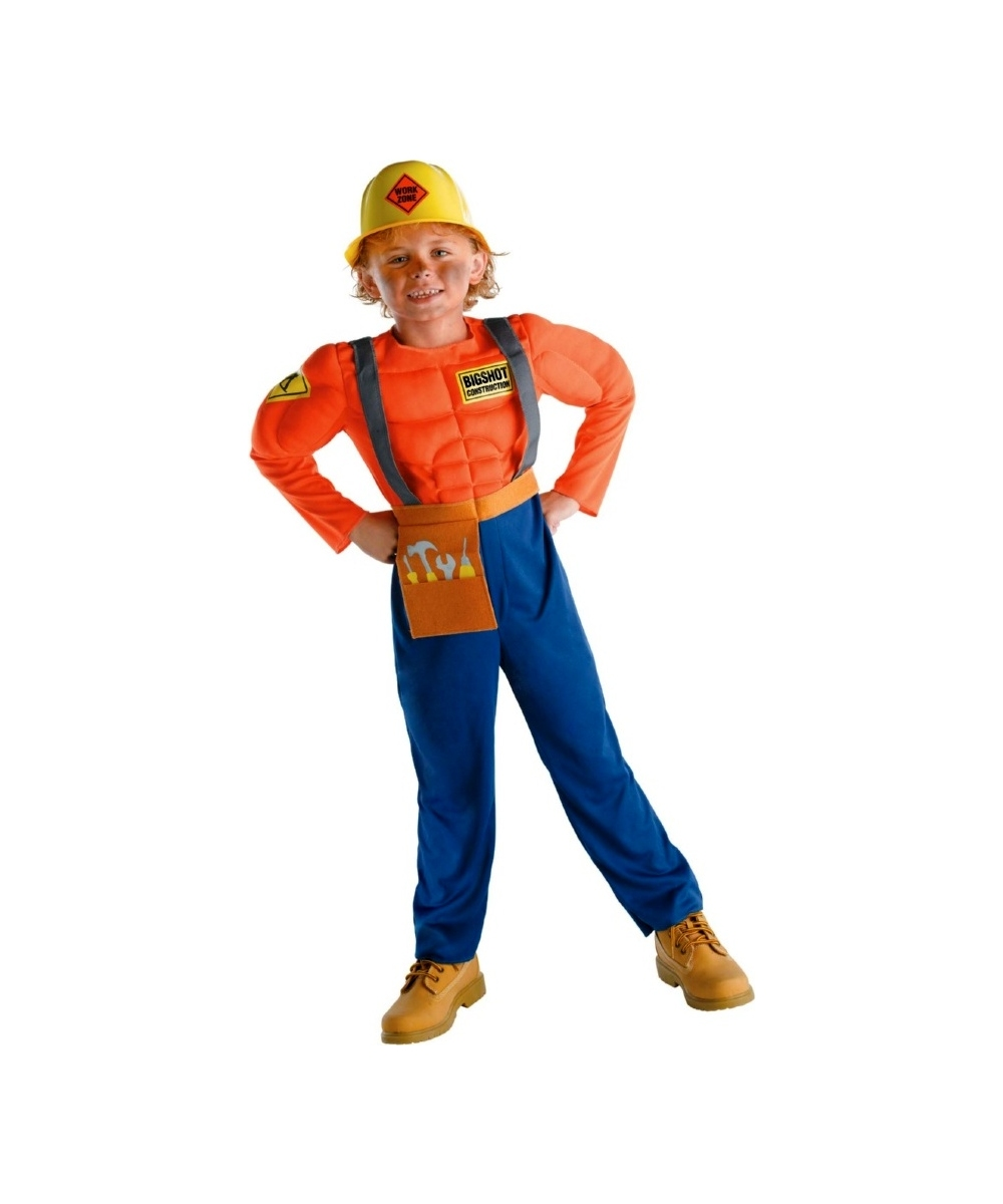 sc 1 st  Wonder Costumes & Construction Worker Costume - Kids Halloween Costumes