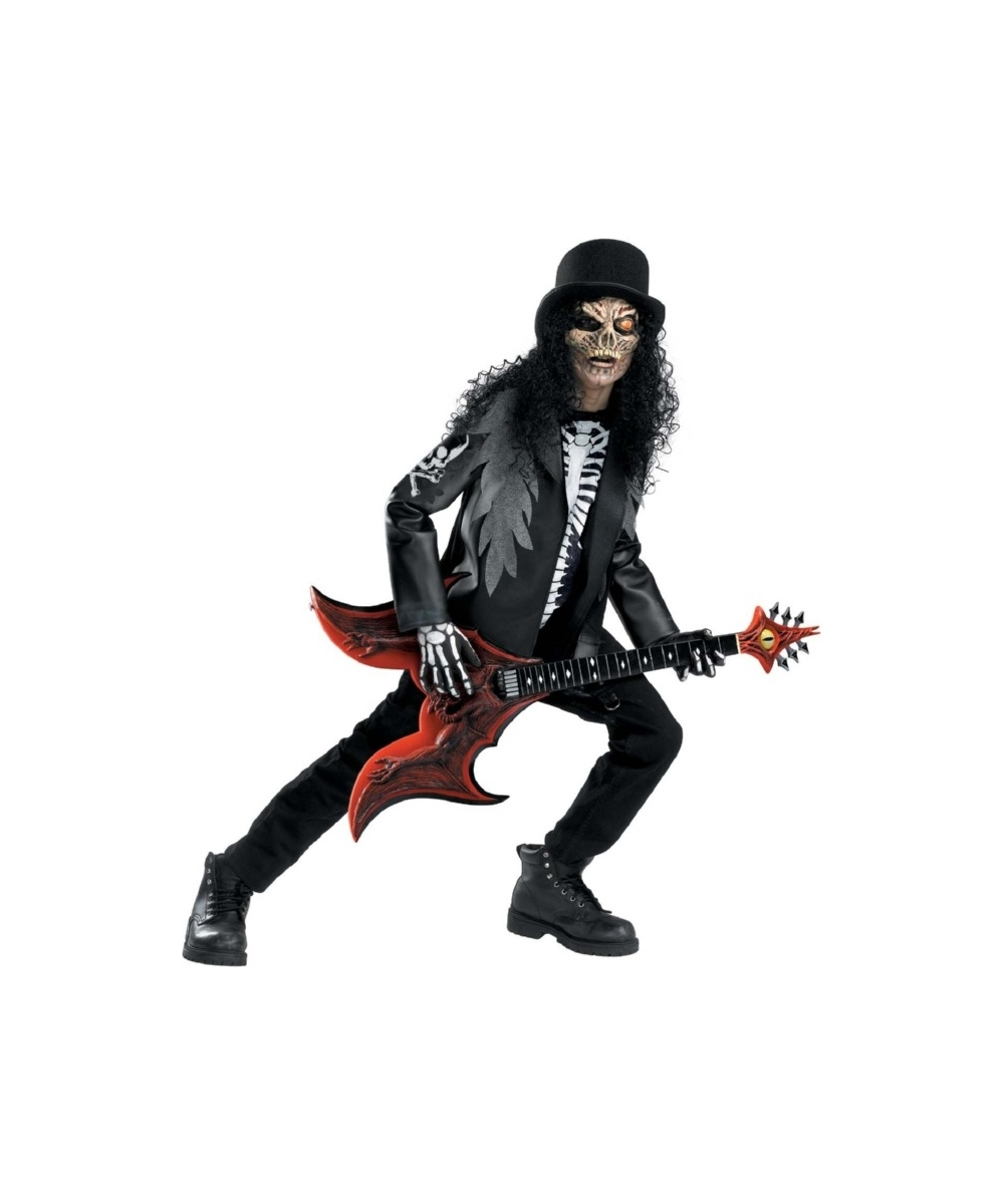 Cryptic Rocker Costume Kids Halloween Costumes