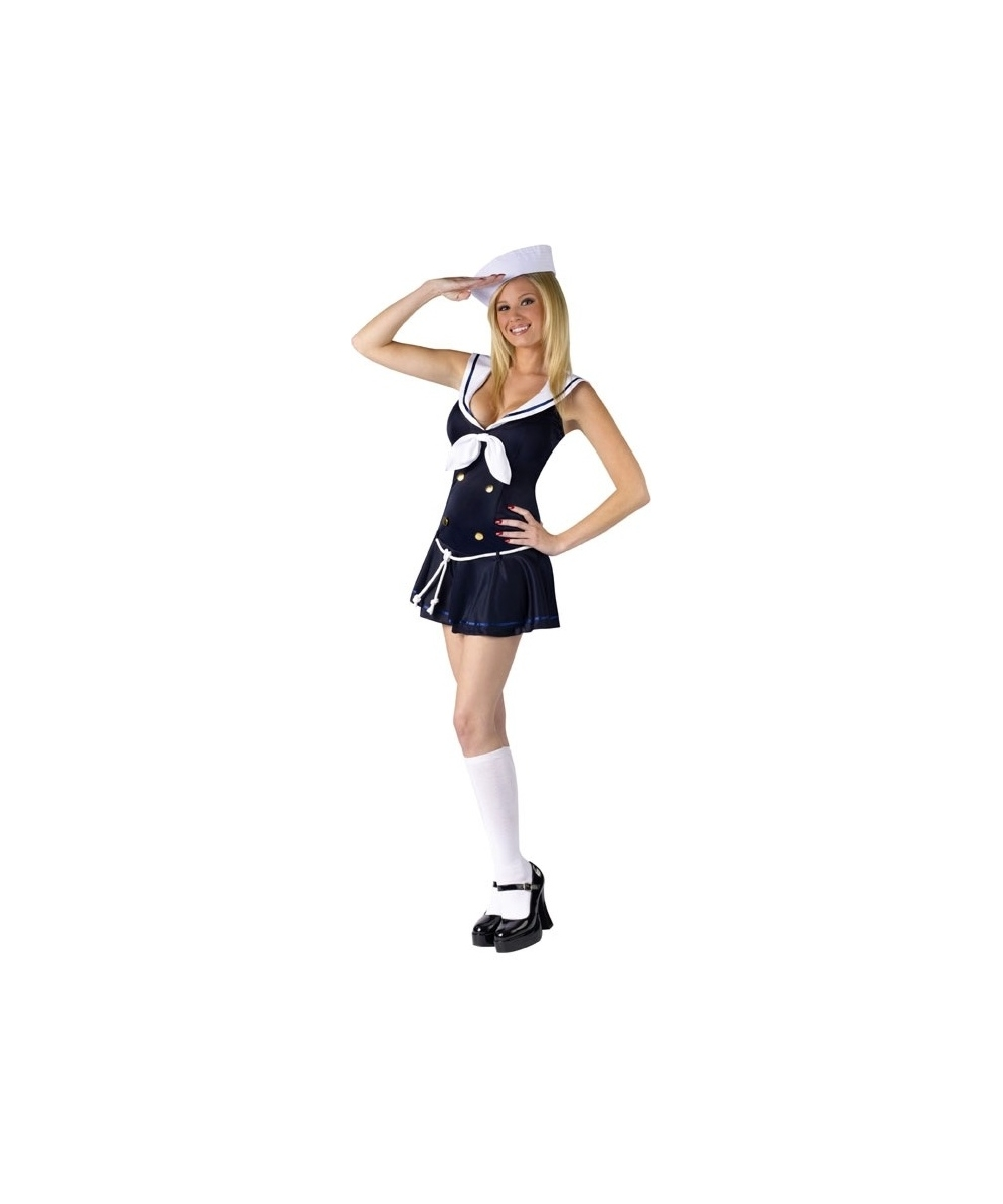 Dark Sailor Women Costume