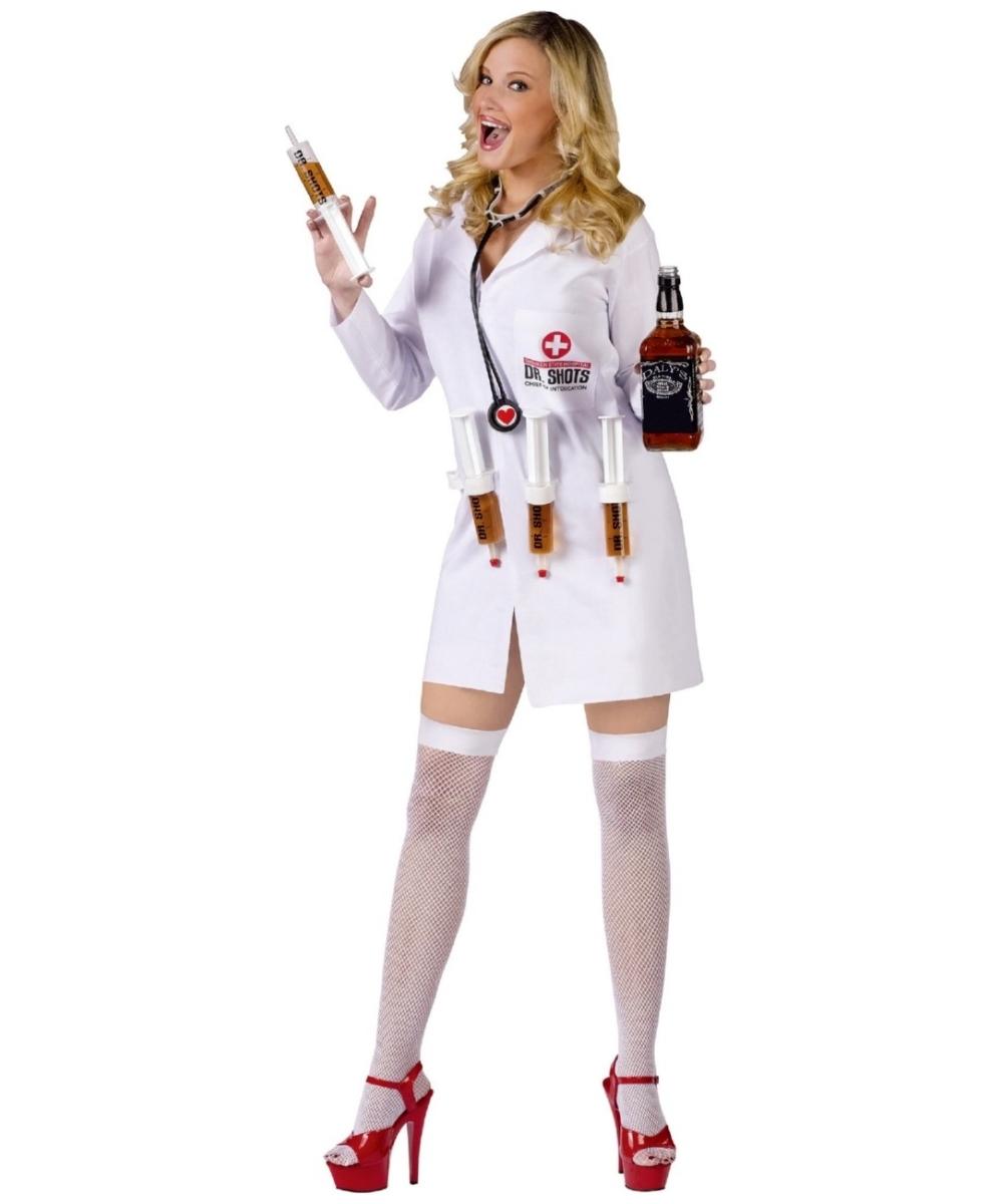 Zombie Nurse Costume For Kids