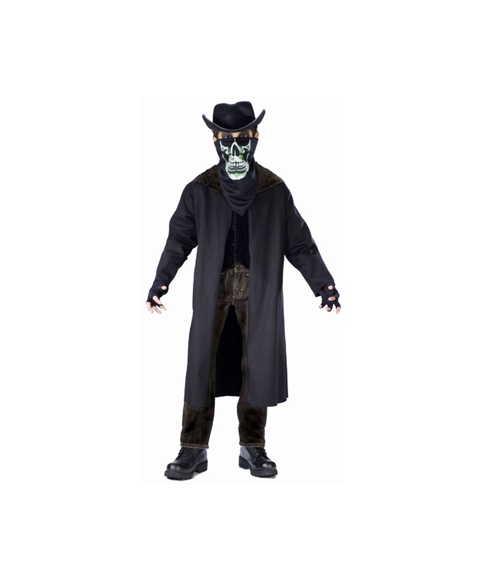 Evil Outlaw Kids Costume