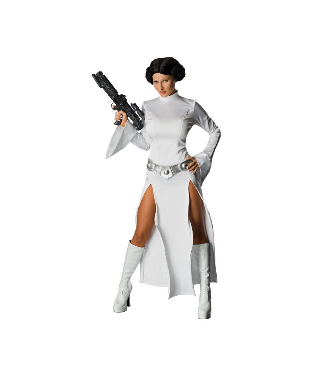 Adult Princess Leia Halloween Costume Women
