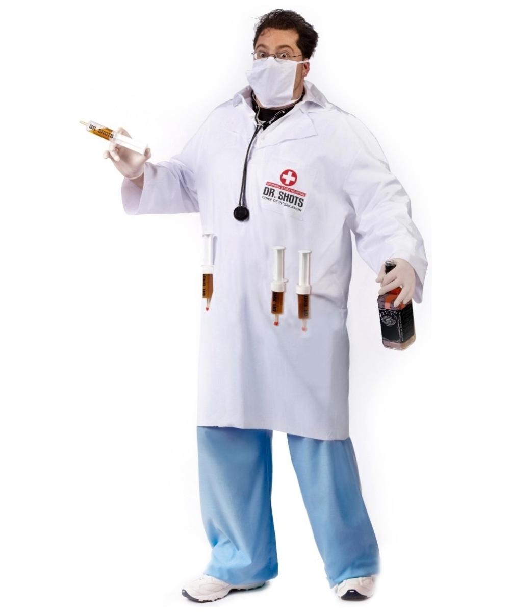 dr. shots male costume - men halloween costumes