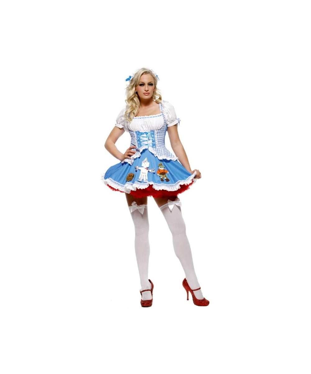 dorothy miss dothy costume - adult costume - women movie costumes
