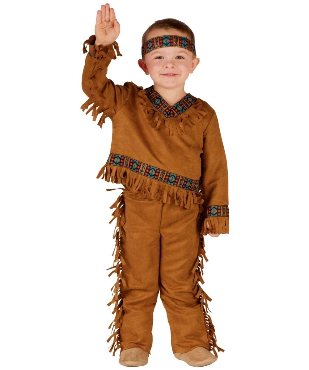 sc 1 st  Halloween Costumes & Native American Indian Kids Costume - Boys Indian Costumes