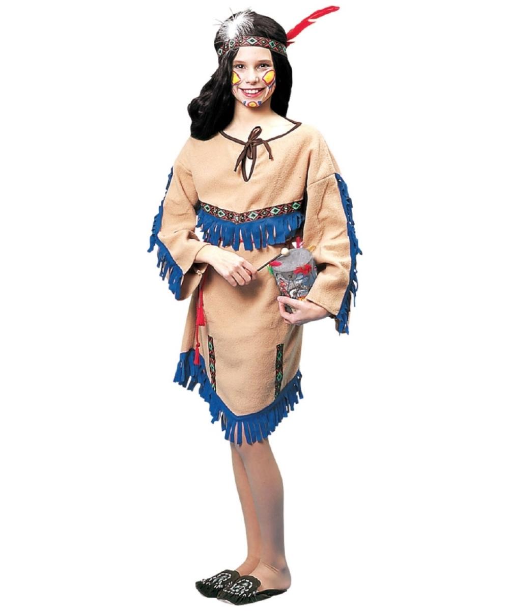sc 1 st  Halloween Costumes & Kids Native American Princess Indian Costume - Girls Indian Costumes