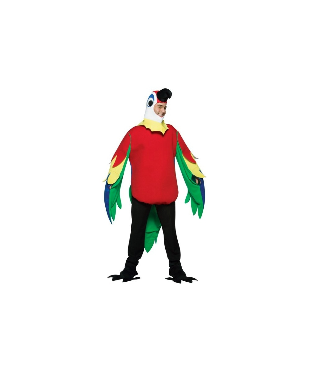 CHASITY: Adult parrot costume