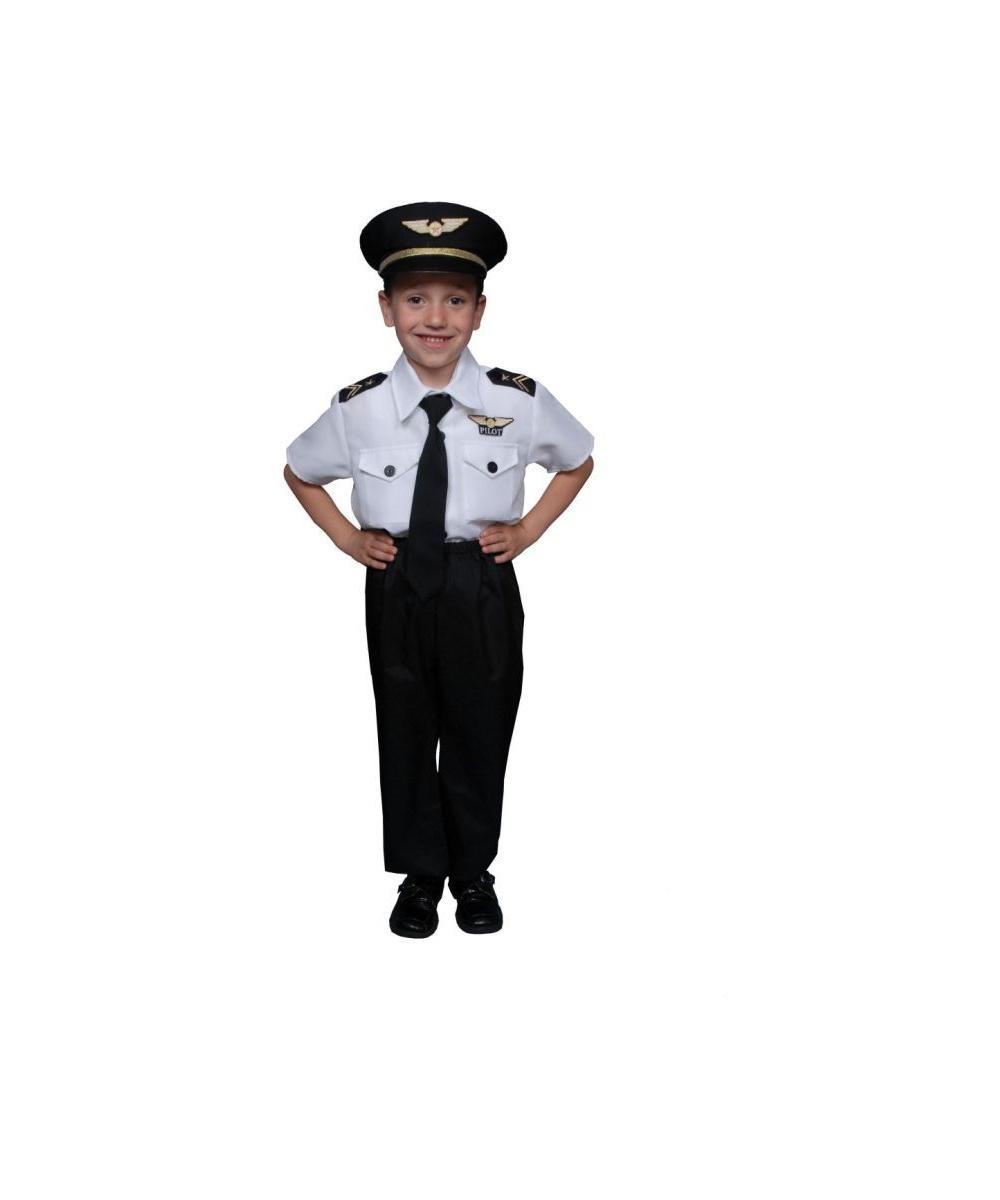 sc 1 st  Wonder Costumes & Pilot Boy Kids Costume - Boy Pilot Costumes