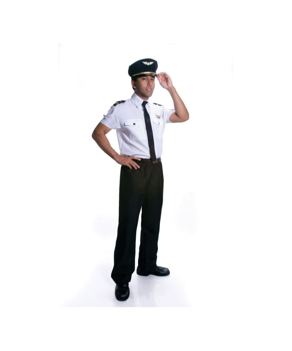 sc 1 st  Wonder Costumes & Pilot Adult Costume - Men Pilot Costumes