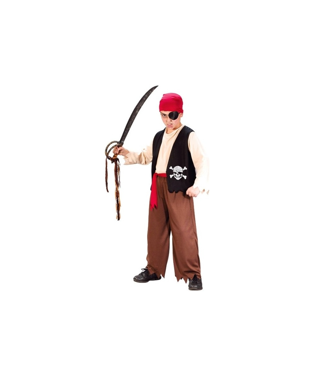 Playful Pirate Boy Costume