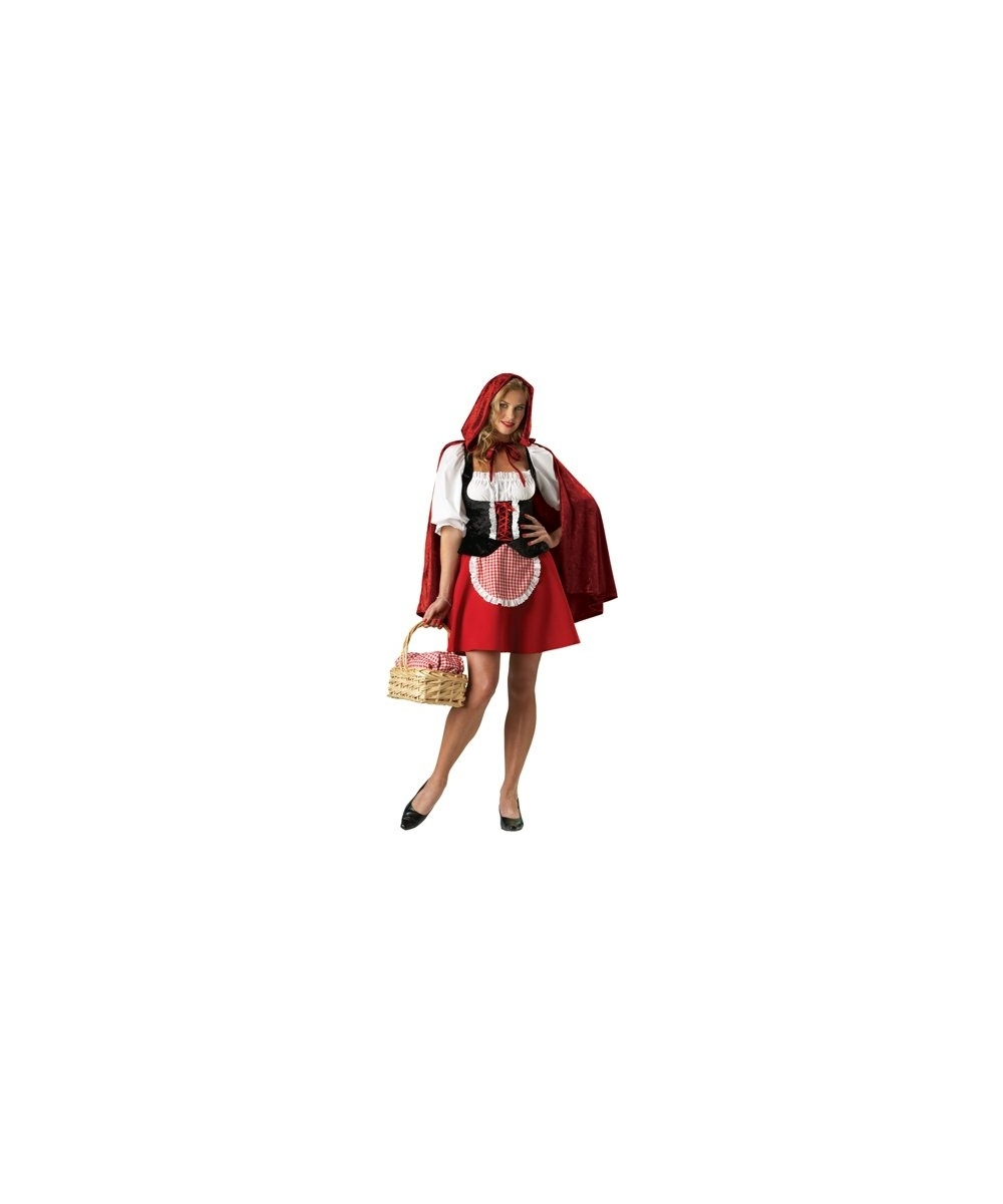 Red Riding Hood Sexy Women Costume