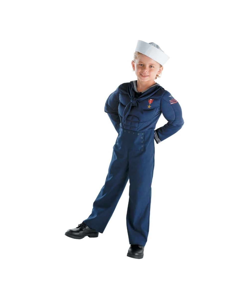 sailor kids costume boys halloween costumes
