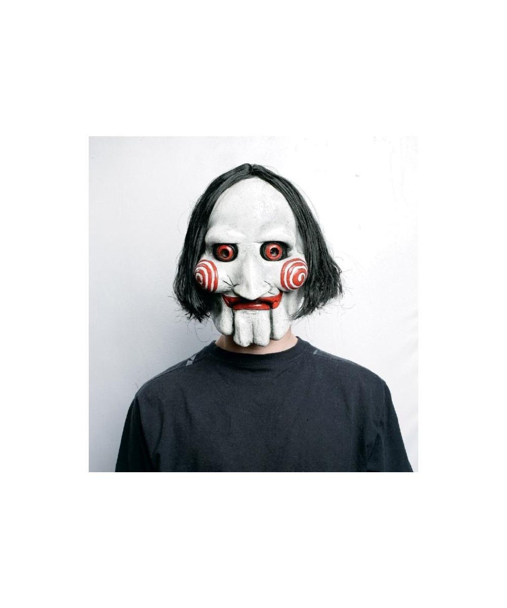 adult saw puppet vinyl mask men halloween costumes