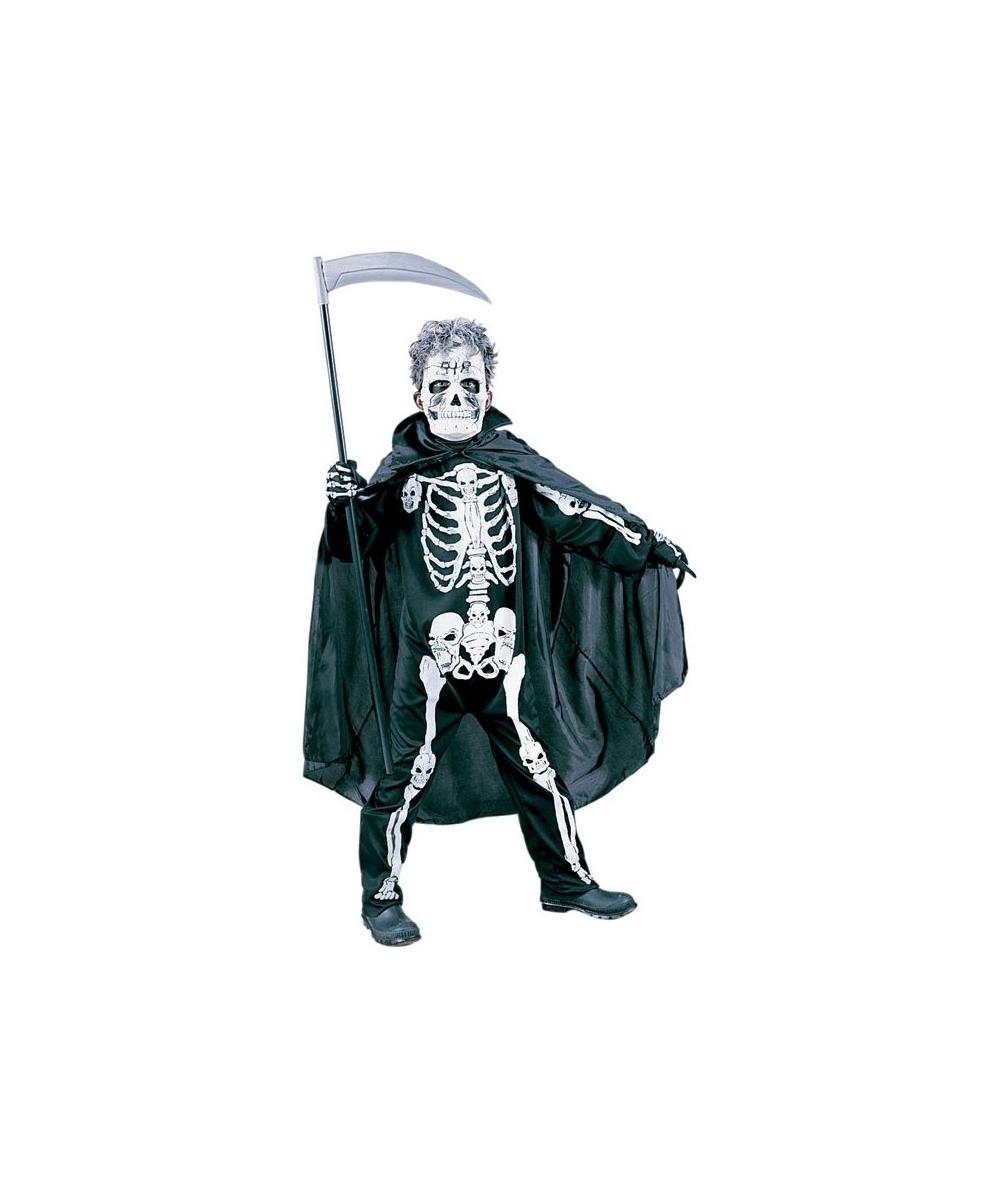 sc 1 st  Halloween Costumes & Scary Skeleton Kids Halloween Costume - Boys Costume