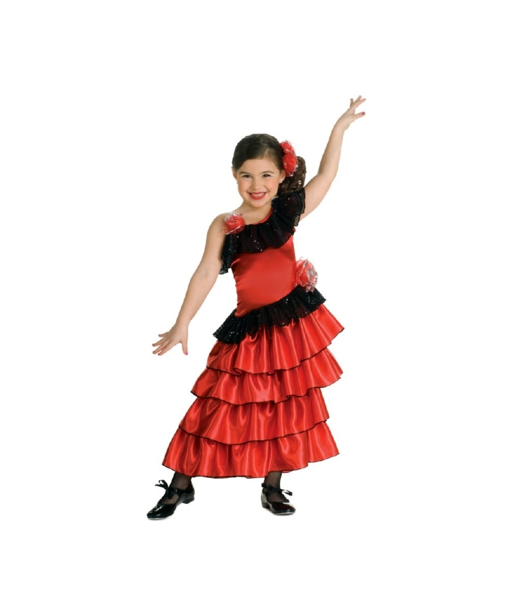 18d6f7028 Childrens Spanish Costume & Childrenu0027s Senorita Costume Baby 1-2 ...