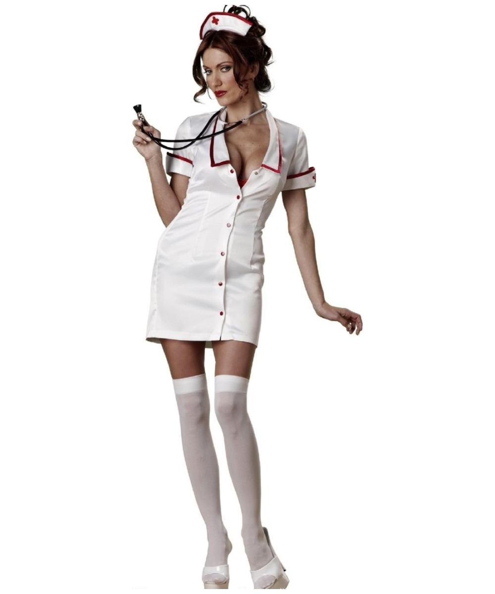 e8d767b8e4dfa Nurse Temperature Rising Adult Ladies' Costume - Women's Costume