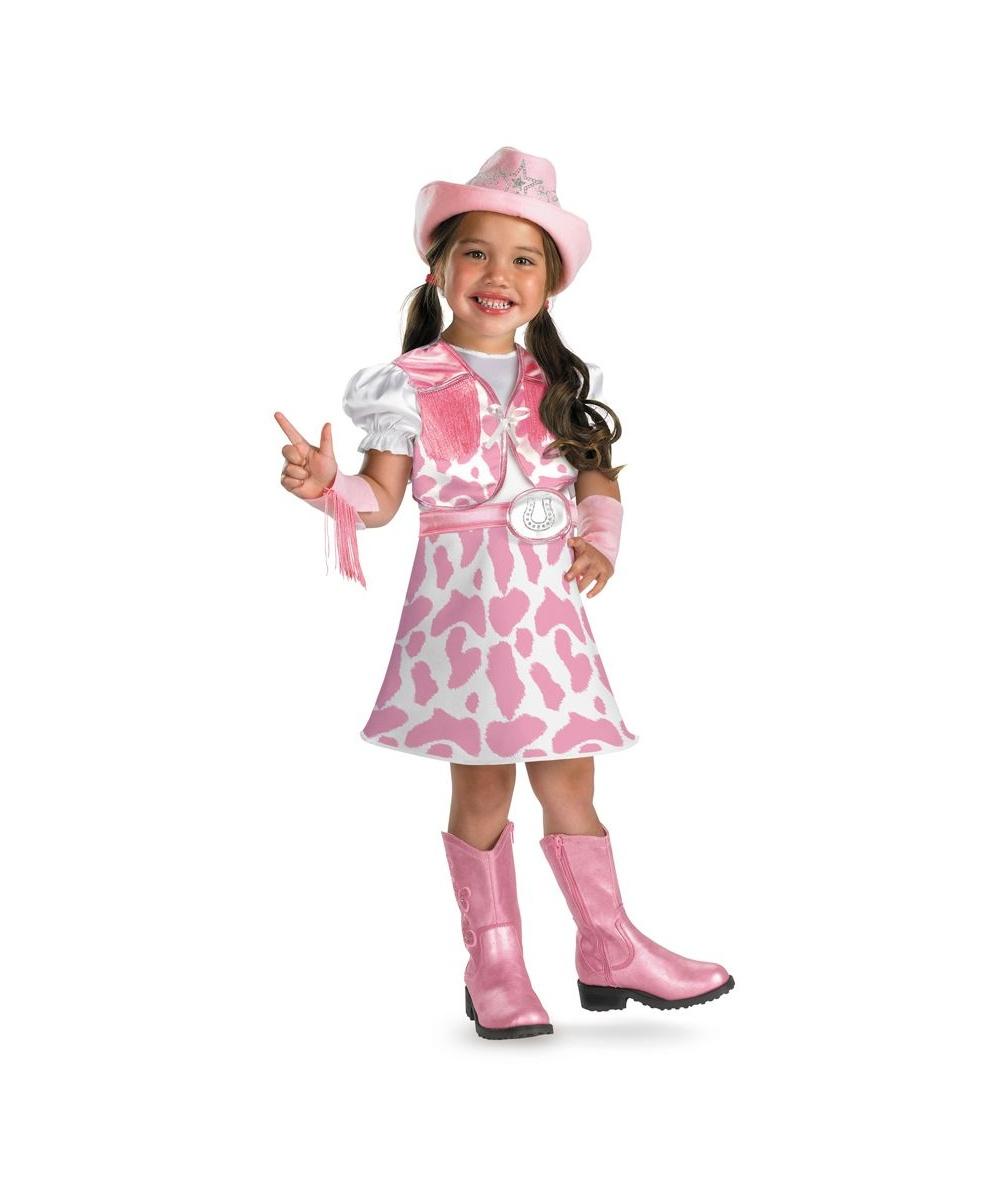 Wild West Cutie Kids Costume  sc 1 st  Halloween Costumes & Wild West Cutie Kids Cowgirl Costume - Girls Costume