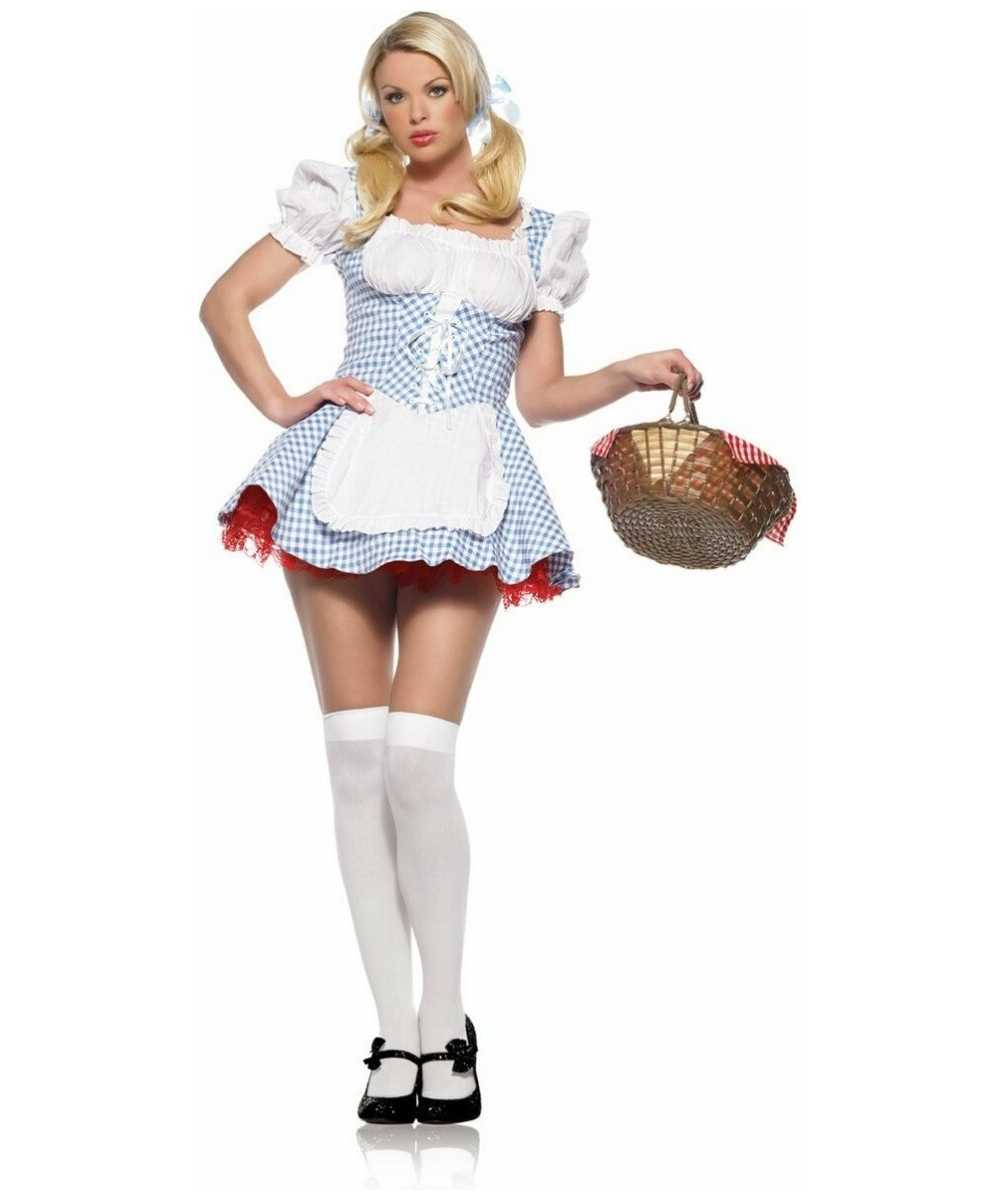 Dorothy Sexy Dothy Adult Costume Women Movie Costumes