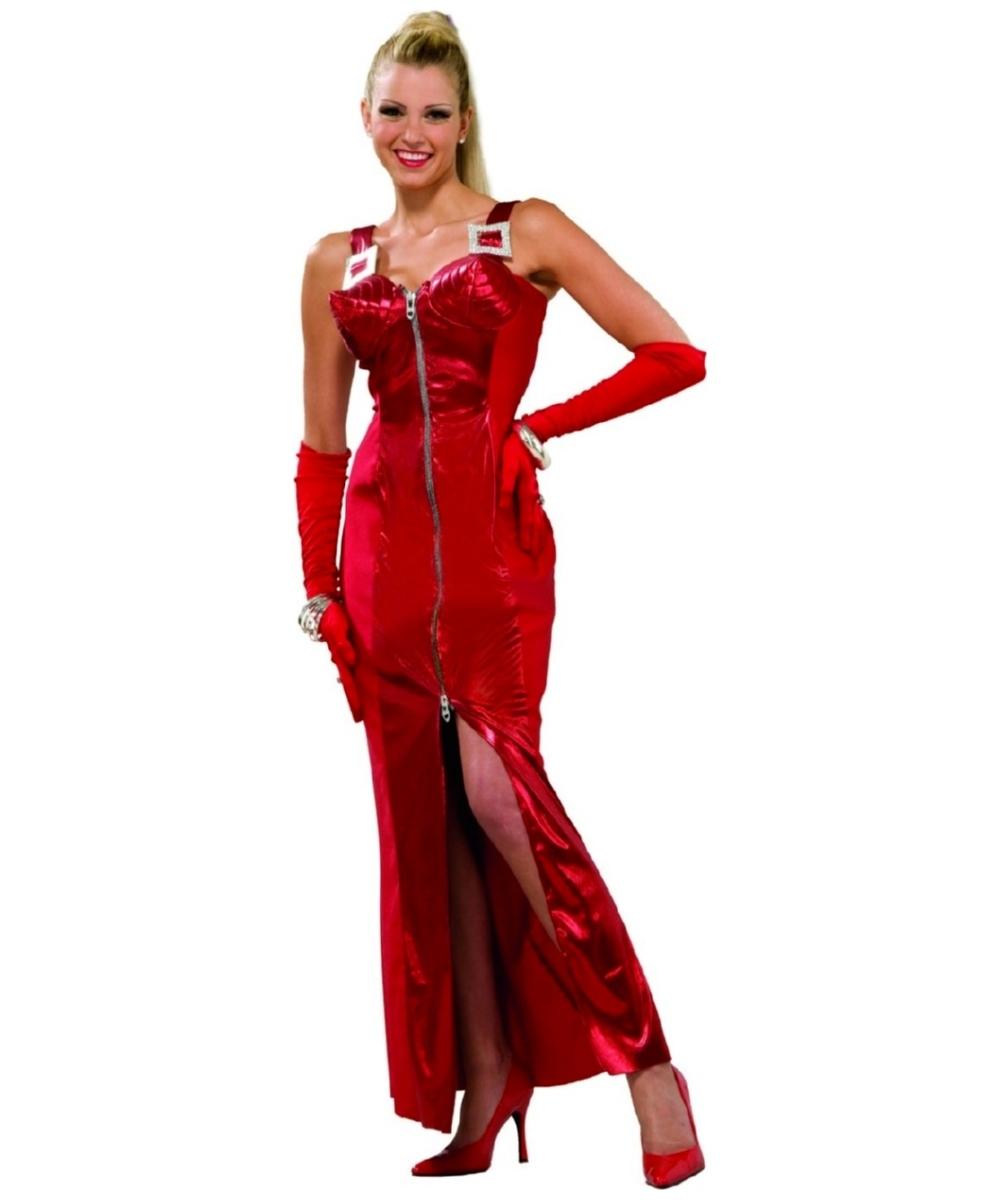 crimson seduction costume - 1980s women halloween costume