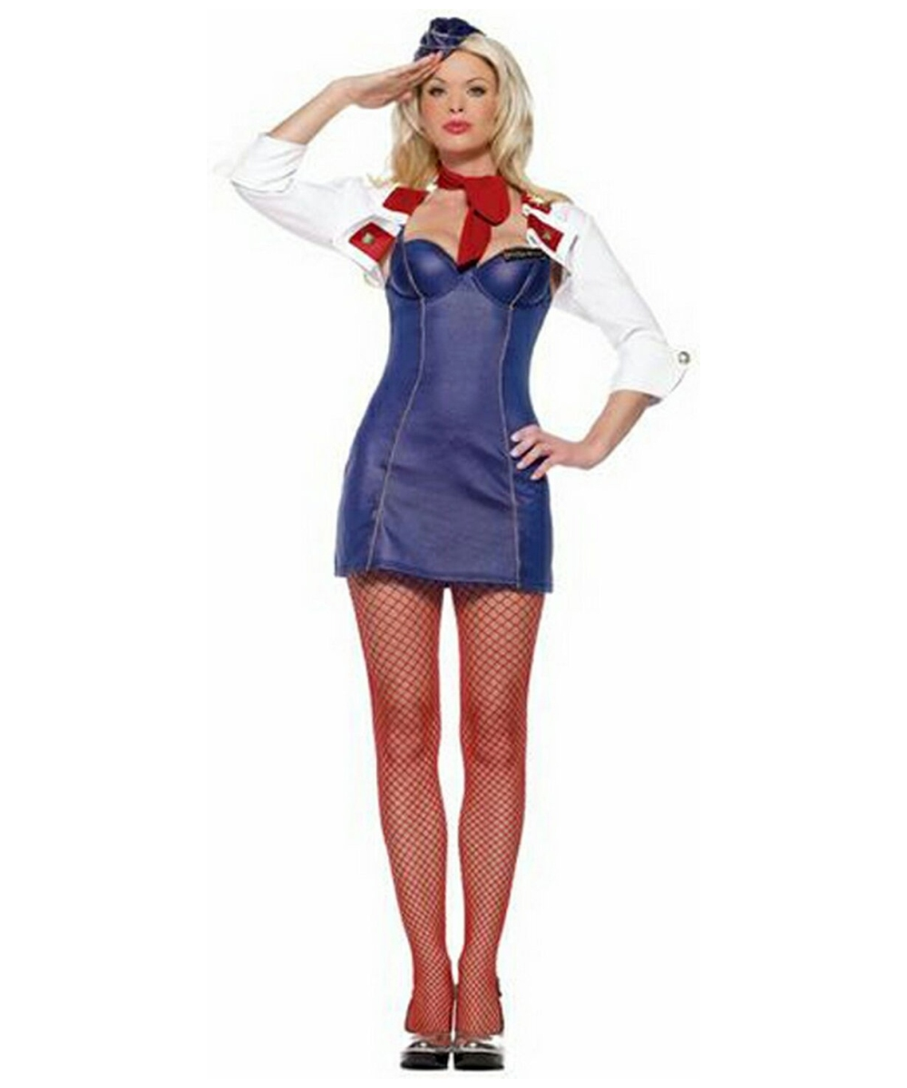aecd056d475 Mile High Attendant Costume - Adult Costume - Halloween Costume at Wonder  Costumes