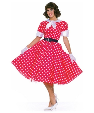 50's Housewife Women Costume