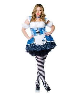 Alice plus size Women Costume