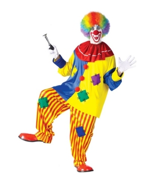 Big Top Clown Men Costume