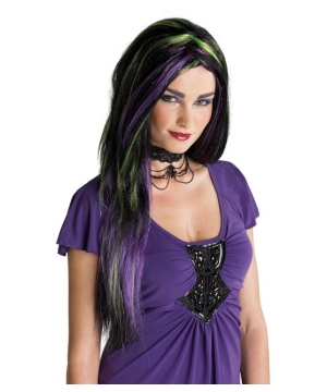 Black Rebel Witch Wig