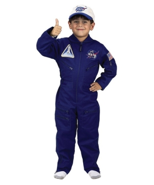 Flight Suit Boys Costume