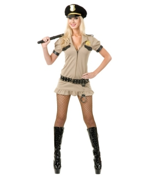 California Sheriff Women's Costume