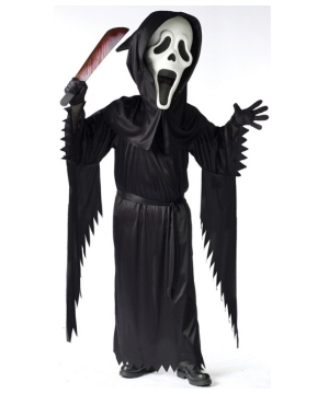 Ghost Face Boys Costume