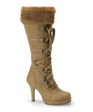 Indian Maiden Suede Boot Covers