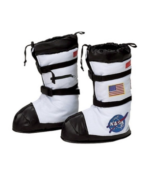 Kids Astronaut Boots Costume