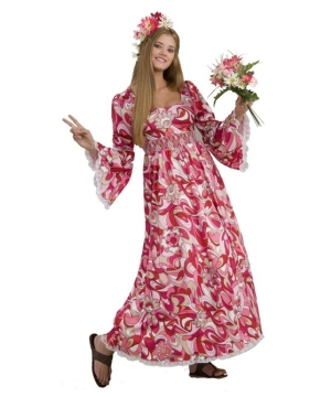 Long Flower Adult Costume