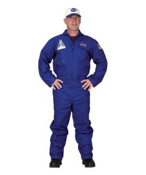 Flight Suit Mens Costume