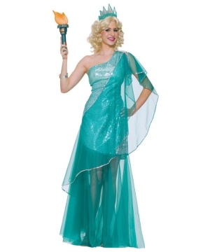 Miss Liberty Women Costume