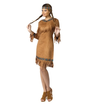 Native American Tribal Women's Costume