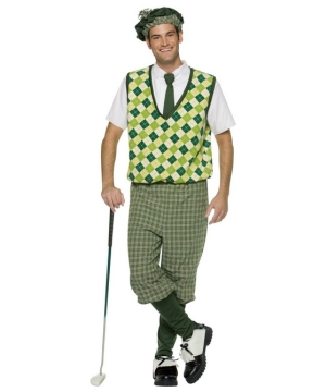 Old Tymer Golfer Costume