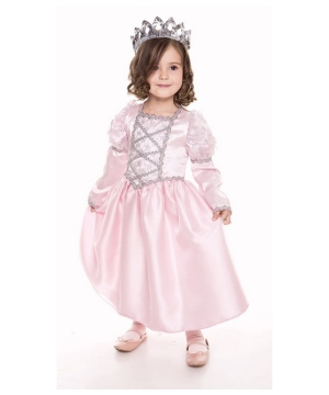 Pink Princess Kids Costume