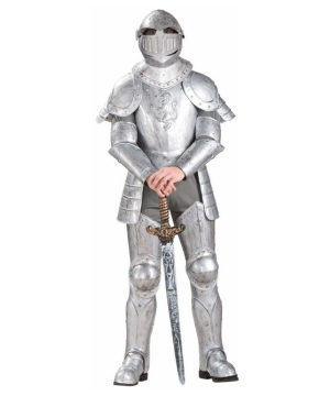 Knight in Shining Armor Men Costume
