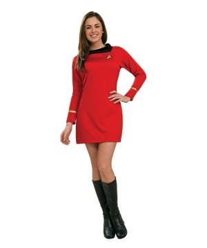 Star Trek Red Dress Women Costume deluxe